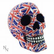 Nemesis Now Patriot Skull Paperweight Ornament 19cm